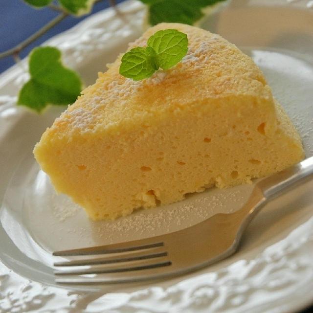まろやかでしっとり☆スフレチーズケーキ