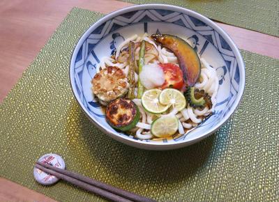 夏野菜のガーリックオリーブオイルぶっかけ と アウトレットへ♪
