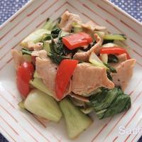 スパイスアンバサダー|ピリッと辛いチンゲン菜の炒め物