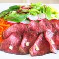 野菜たっぷりのホームパーティー ~ローストビーフとトマトのサラダ