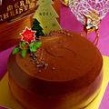 今年のクリスマスケーキのご提案♪ ○○入りガナッシュケーキ