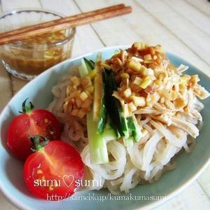 おかわりしたくなっちゃう!「棒々鶏のひんやり麺」の絶品レシピ