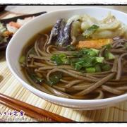 サクサクじゅわ~な天ぷらそば定食は...そばつゆ作りから♪初挑戦のレシピ編。