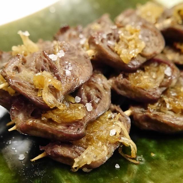 ★ 新わかめシャブシャブ&鶏ハツ甘生姜焼き