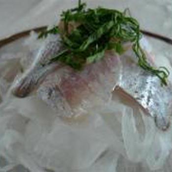 青魚(アジ・サバ)のサラダ