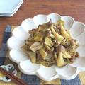 焼き肉のたれで♪ごはんがすすむ☆豚肉ときのこのカレー炒め by kaana57さん