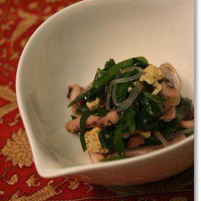 イカとニラの炒めもの&回鍋肉