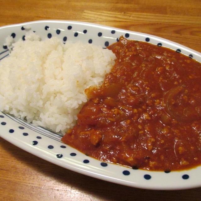 【料理番外編】鶏ひき肉と新タマネギのカレー
