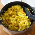 【レシピ】炊き込みコーンカレーピラフ《炊飯器で手軽に!子供も喜ぶ♡》