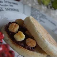 ランチ&おやつに、ジャム&チーズサンドマフィン