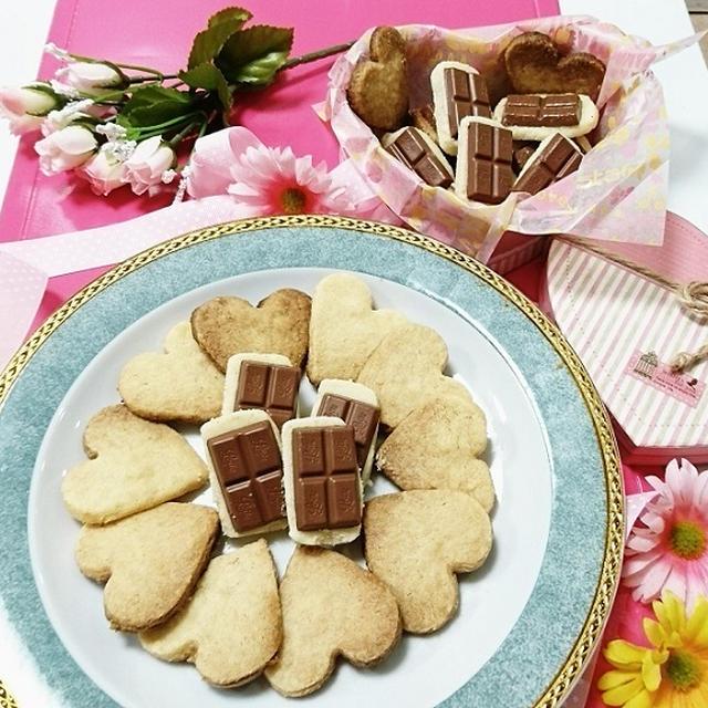 バレンタイン❤HMで簡単!濃厚♡チョコクッキー