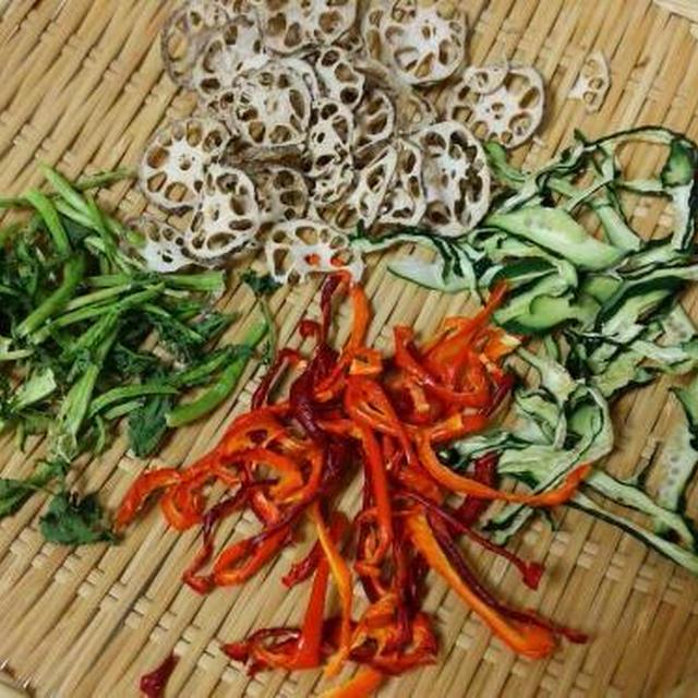 干し野菜とひじきのオイスターソース炒め