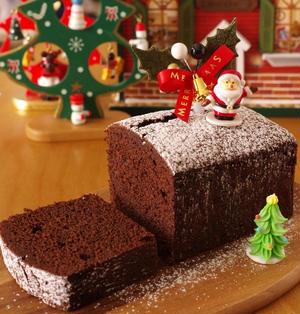 クリスマスの超簡単チョコレートケーキ