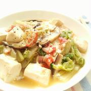 豆腐と白菜の中華風うま煮☆