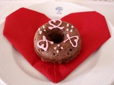 >もうすぐバレンタイン♪ 「チョコドーナツ」 レシピ by クーピーさん