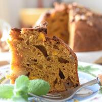 朝食にオススメ♡かぼちゃとプルーンのケーキ