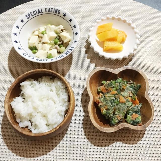 【離乳食完了期】大人も子供も麻婆豆腐!