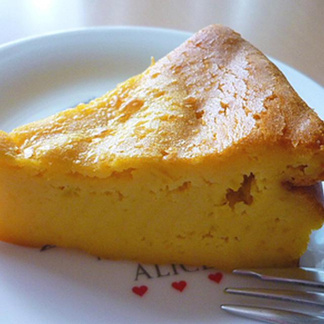 驚愕のかぼちゃケーキ