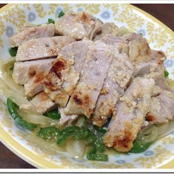 豚肉味噌漬けの焼き方【簡単】豚ロース野菜炒めレシピ