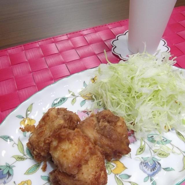 カリッとジューシー★ヘルシー na 鶏胸肉の唐揚げ