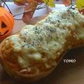 ハロウィンにも♪カルボナーラの素で!バターナッツかぼちゃのチキングラタン