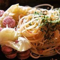 早ゆでスパゲティde即効ペペロンチーニ