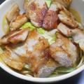 豚生姜ラーメン