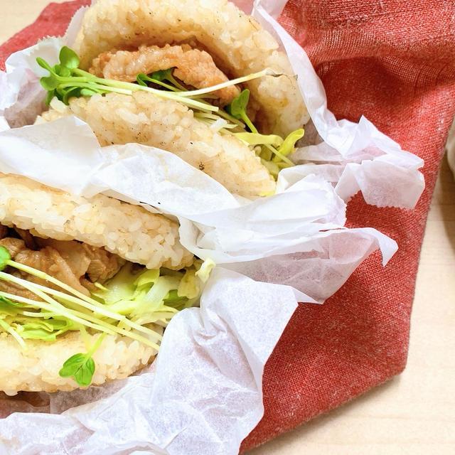【レシピ】体にもお財布にも優しい!自家製ヤキニクだれで作るライスバーガー