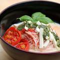 カプレーゼ素麺