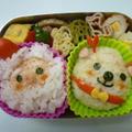 12月13日 サンタとトナカイのおにぎり弁当 by カオリさん