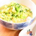 ヘルシー和総菜◎ブロッコリーの卵とじ豆腐 by kaana57さん