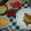 ニューメキシコ料理★ビーフタコス