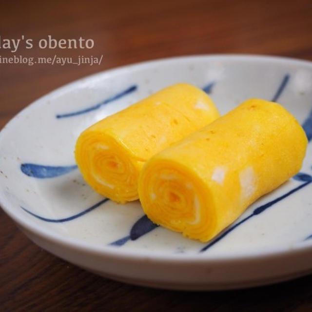 卵1個で作る【くるくる卵焼き】レシピ。