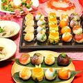 親子手毬寿司作り☆雛祭り2012