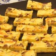 さつま芋と甘栗のチーズケーキ