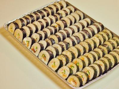 人気の巻き寿司♪