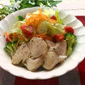 つくりおきにも♪炊飯器で簡単!鶏胸肉のしっとりサラダチキン
