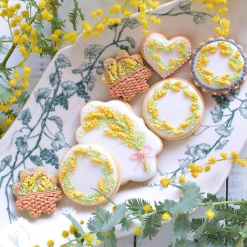 春のアイシングクッキー