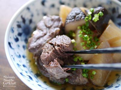 >圧力鍋|時短|簡単|ほろほろお肉|【牛スネ肉と大根のホロホロ煮込み】 by SHIMAさん