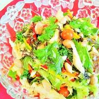 落花生&彩り野菜deベトナム風サラダ