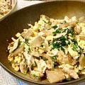 【チャンプルーみたいな】鶏ささみとザーサイの中華炒めは野菜もたっぷり