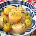 【副菜】海外で作る和食♡手づくり甘味噌でふろふき大根と芽キャベツのだし煮