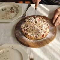 苺のシュトロイゼルケーキ