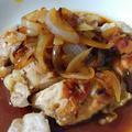 鶏肉と玉ねぎのトロトロ炒め