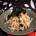 ごま油香る大根とカニカマの旨醤油サラダ #鶏がらスープ #ナムル