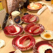 都内泊 スカイツリー 夫がやらかした回転寿司