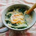巣ごもりたまご焙煎ごまスープ by とまとママさん
