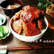 ガッツリ食べたいときは!「ソースカツ丼」アイデアレシピ
