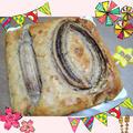 祝10ヶ月☆ホケミと豆腐で簡単バナナケーキ