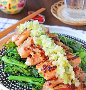 ねぎ塩ダレのスティックチキン☆お弁当やおつまみにも・・